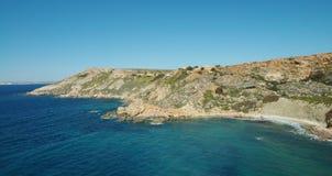 Fomm ir-rih - Malta. Fomm ir-rih Bay and Cliffs- Malta Stock Photos