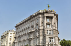 Fonciere General Insurance Institute building in Budapest, Hungary. Royalty Free Stock Images