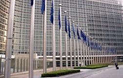 Fonctionnaire 2 de Commission européenne Image libre de droits