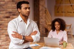 Fonctionnement afro-américain attrayant de couples Image stock