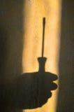 fonctionnement blanc d'outils d'isolement par mains Images libres de droits