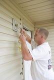 Fonctionnement d'électricien Image stock