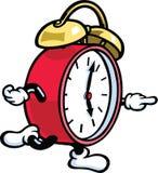 Fonctionnement d'horloge Photographie stock