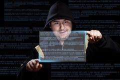 Fonctionnement d'intrus images stock