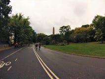 Fonctionnement dans Central Park photos stock
