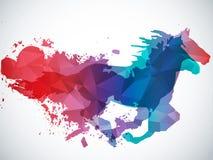 Fonctionnement de cheval Photographie stock libre de droits