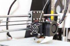 fonctionnement de mécanisme de l'imprimante 3d Images stock