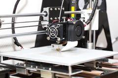 fonctionnement de mécanisme de l'imprimante 3d Photo stock