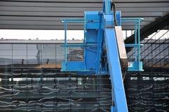 Fonctionnement de matériel de construction Photographie stock libre de droits
