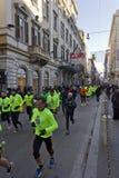 Fonctionnement de personnes nous courons Rome Photo libre de droits