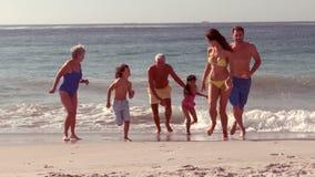 Fonctionnement heureux de famille étendu clips vidéos