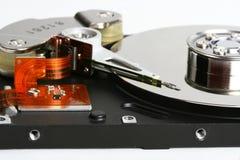 Fonctionnement intérieur d'un disque dur Image stock