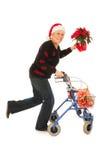 Fonctionnement pour Noël Image libre de droits