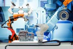 Fonctionnement robotique fut? sur le concept fut? d'usine