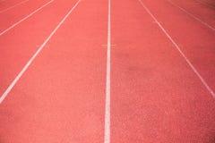 Fonctionnement vide d'arène et de course de stade Images libres de droits
