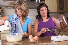 Fonctionner dans la cuisine Images stock