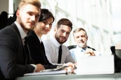 Fonctionner ensemble Affaires Team Discussion Meeting Corporate Concept photos libres de droits