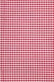 fond à carreaux de texture de nappe Images libres de droits