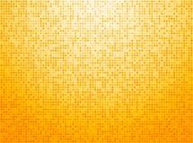 Fond à carreaux jaune coloré Images stock