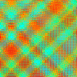 Fond à carreaux vert géométrique abstrait Image libre de droits
