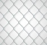 Fond à chaînes de barrière avec l'ombre Illustration Stock