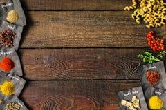 Fond à cuire créatif Configuration plate Images stock