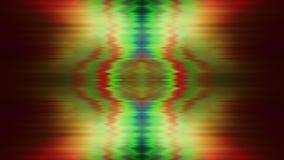 Fond à la mode futuriste de kaléidoscope de cru rêveur banque de vidéos