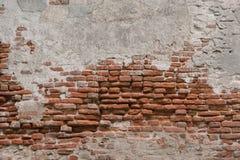 Fond âgé de rancune de détails de mur de briques Images libres de droits