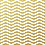Fond éclatant de vague d'or illustration stock