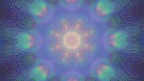 Fond éclatant rêveur de couleurs acides multicolores de cru illustration de vecteur