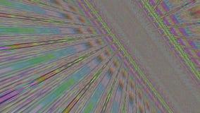 Fond éclatant rêveur nostalgique géométrique multicolore de modèle illustration libre de droits