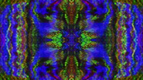 Fond éclatant rêveur nostalgique ornemental de modèle de kaléidoscope illustration libre de droits