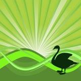 Fond écologique vert illustration de vecteur