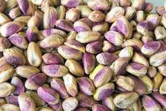 Fond écossé de pistaches Photos libres de droits