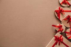 Fond élégant de cadeaux Image libre de droits