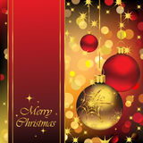 Fond élégant de Noël Image libre de droits