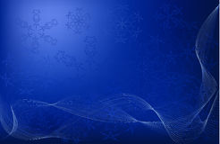Fond élégant de Noël Photographie stock libre de droits