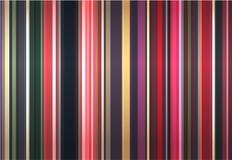 Fond élégant des bandes de couleur Photographie stock