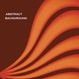 Fond élégant onduleux rouge abstrait Image libre de droits