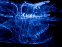 Fond électrique bleu de Techno Photo libre de droits