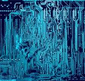 Fond électronique abstrait Image libre de droits