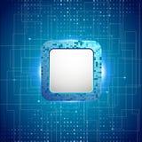 Fond électronique abstrait images stock