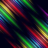 Fond électronique abstrait de vecteur de musique de vague d'effet de la lumière d'arc-en-ciel illustration libre de droits