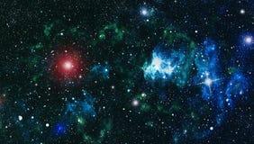 Fond élevé de gisement d'étoile de définition Texture étoilée de fond d'espace extra-atmosphérique Fond étoilé coloré d'espace ex Images libres de droits