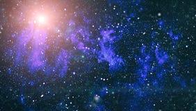 Fond élevé de gisement d'étoile de définition Texture étoilée de fond d'espace extra-atmosphérique Fond étoilé coloré d'espace ex Image stock