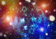 Fond élevé de gisement d'étoile de définition Texture étoilée de fond d'espace extra-atmosphérique Fond étoilé coloré d'espace ex Photo libre de droits