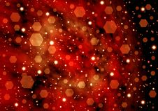 Fond étoilé d'abstraction Image libre de droits