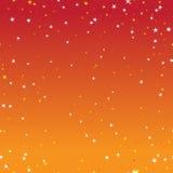 Fond étoilé de ciel Photographie stock libre de droits