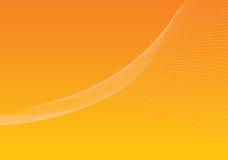 Fond 1 - orange Images libres de droits