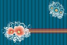 Fond 2 de fleur Images libres de droits